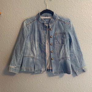 Ann Taylor Lost Denim Jacket Size 2